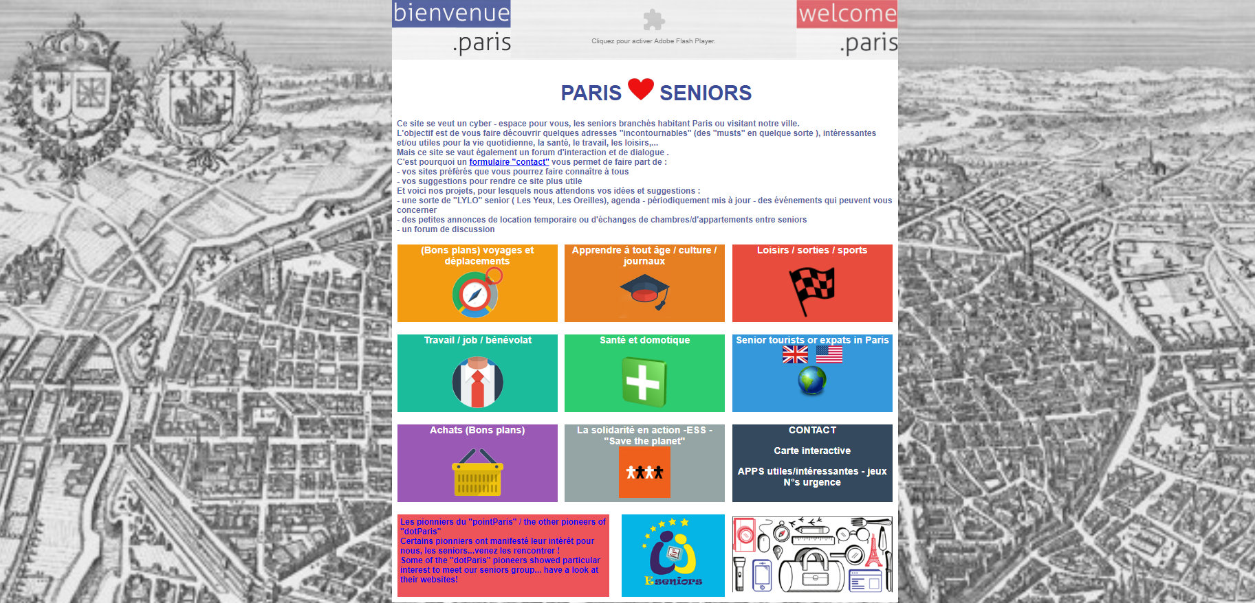 Le guide e-seniors Paris