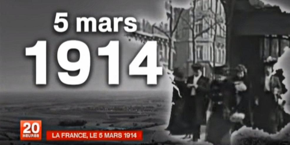 La France du 5 mars 1914 réserve des surprises !