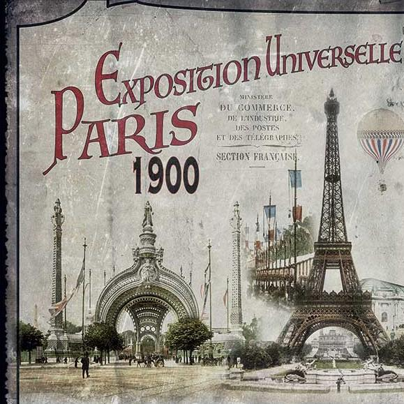 Paris et son Exposition Universelle en 1900